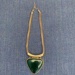 Jewelry - Costume jewelry gold and jade